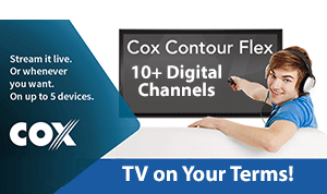 Cox Cable TV in my area