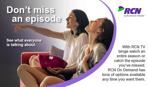 RCN, RCN television, RCN TV, TV with RCN, television, Cable TV, RCN cable tv