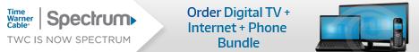 Time Warner Spectrum Digital TV Internet Phone Triple Play Bundle