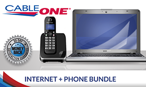 Cable ONE Internet and Phone Double Play Bundle
