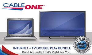 Cable ONE Internet + TV Double Play Bundle
