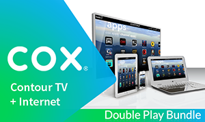 Cox TV + Internet Double Play Bundle