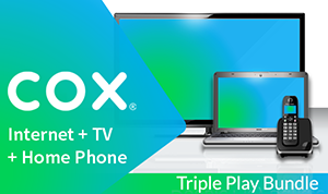 Cox Internet + TV + Phone Triple Play Bundle
