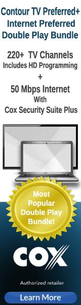 Get Cox TV Preferred + Internet Preferred bundle