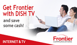 Frontier Internet and Dish TV available in my area