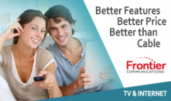 Frontier TV and Internet Double Play in my area