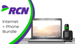 RCN Internet and Phone Double Play Bundle