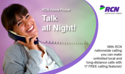 RCN, RCN phone, home phone, unlimited calling plan, landline
