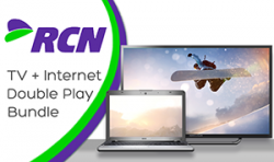 RCN TV + Internet Double Play Bundle offers