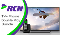 RCN Cable TV + home phone double play bundle