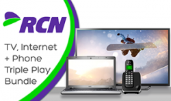 RCN TV Internet and Phone Triple Play Bundle