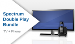 Spectrum TV + Phone Double Play Bundle Plan
