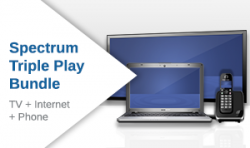 Spectrum TV + Internet + Home Phone Triple Play Bundle