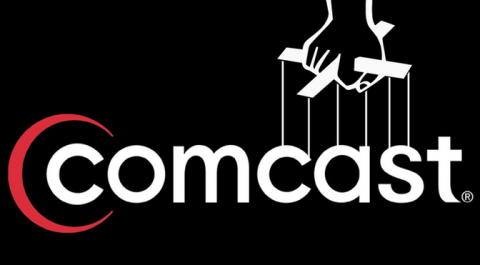 Comcast Xfinity Godfather Puppeteer Logo
